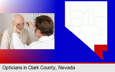 Eyeglass Repair Las Vegas Nevada : Opticians in Clark County, Nevada
